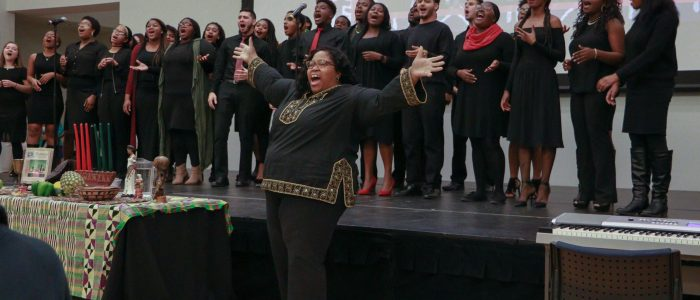 Voices of Freedom Performing at the AACC Kwanzaa Dinner