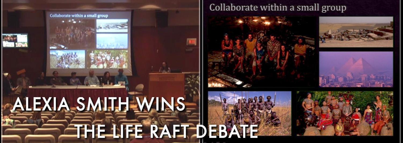 Alexia Smith on Life Raft Debate