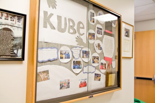 kube bulletin board