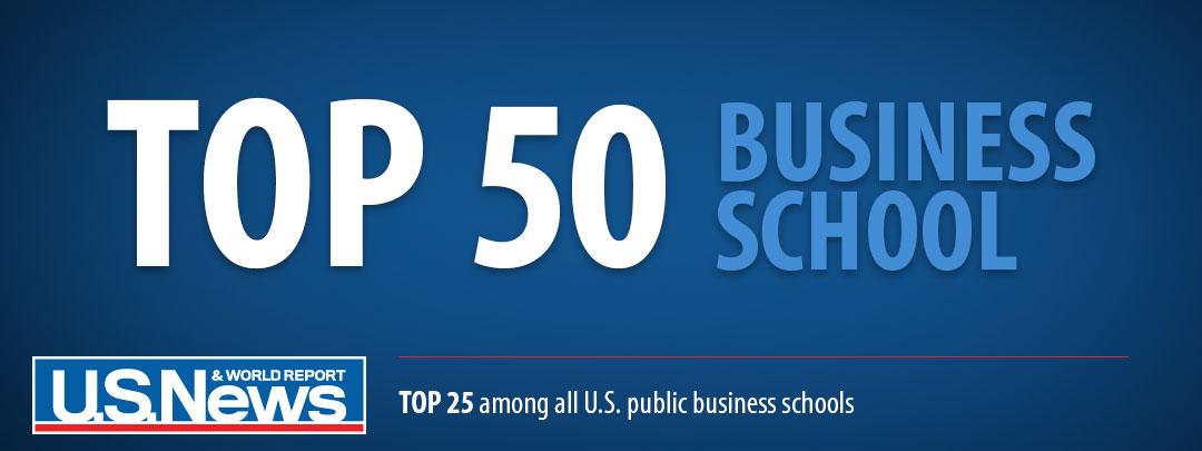Top 50 Business School - US News 2016