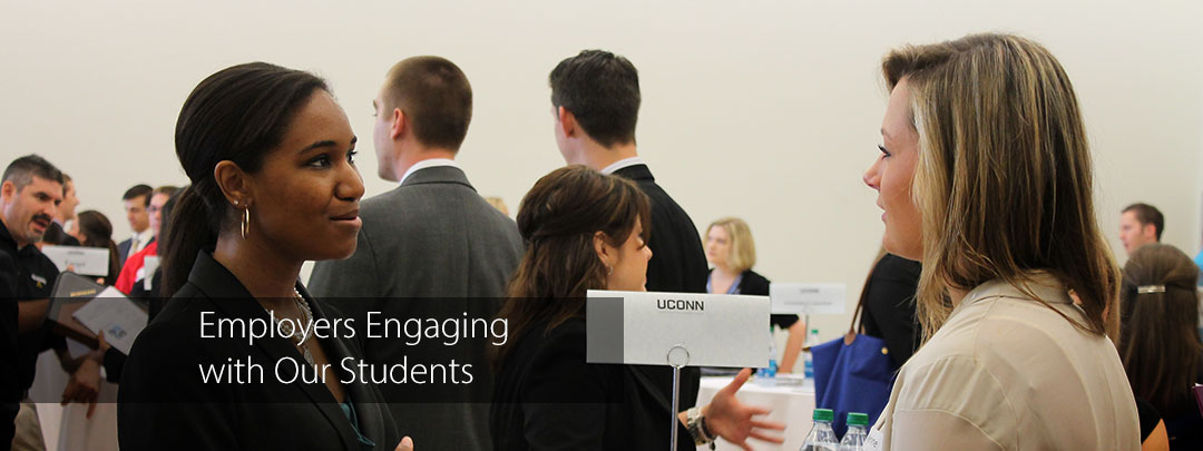 Employers Engaging with Our Students