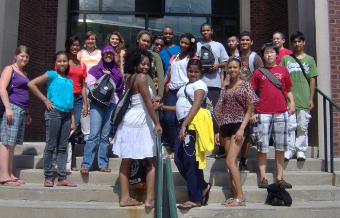 UConn High school students