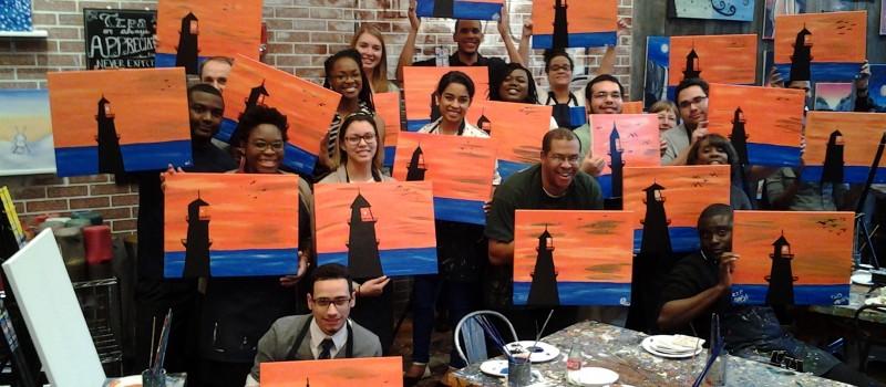Travelers EDGE Senior Painting