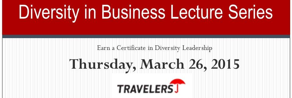 UConn Diversity in Business Lecture Series