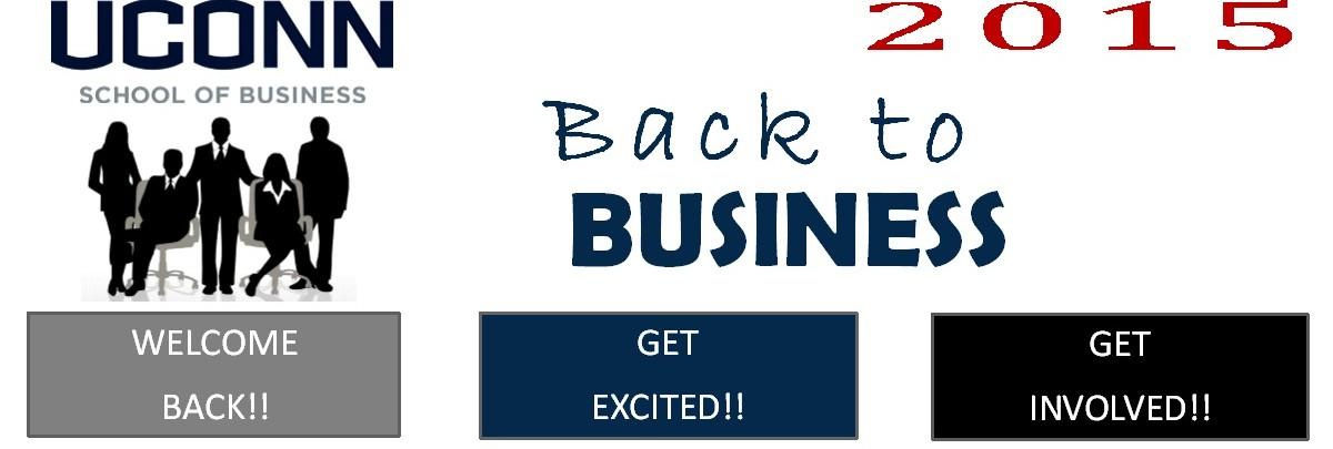 UConn Back to Business