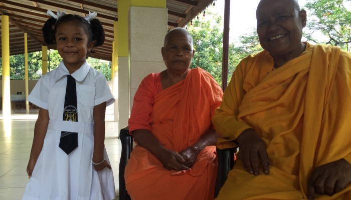 There are 4000 female monks in Sri Lanka!