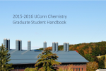 2015-16 Chemistry Graduate Student Handbook Thumbnail