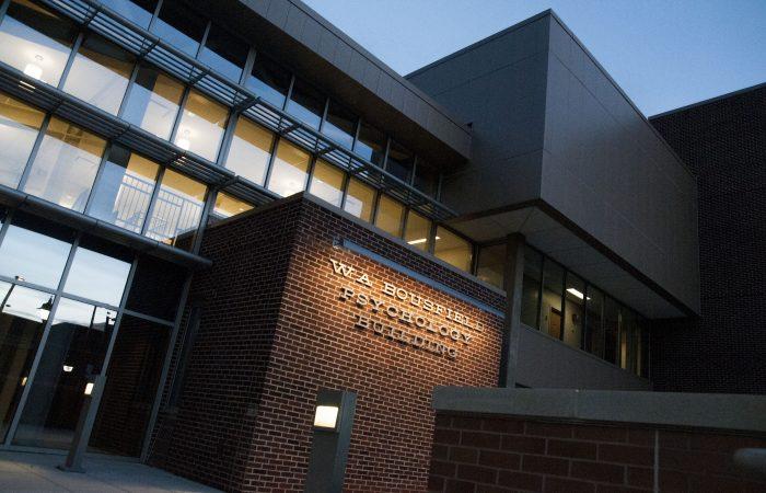 Weston A. Bousfield Psychology Building