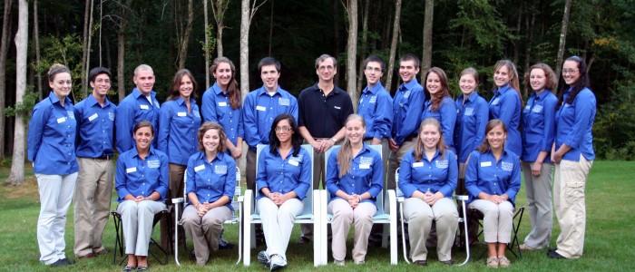 2010-2011 College Ambassadors with Dean Weidemann