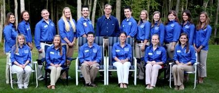2011-2012 College Ambassadors with Dean Weidemann
