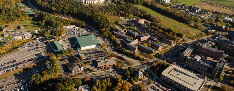 Aerial of UConn