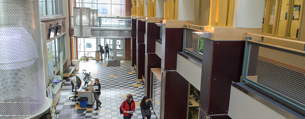 Image of Rowe CUE Atrium