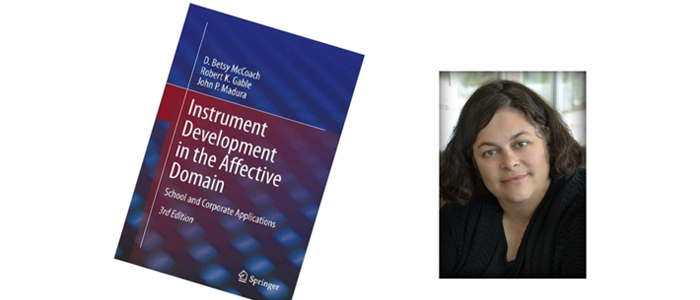 Dr. D. Betsy McCoach is the lead author of a popular book on designing instruments for the affective domain.