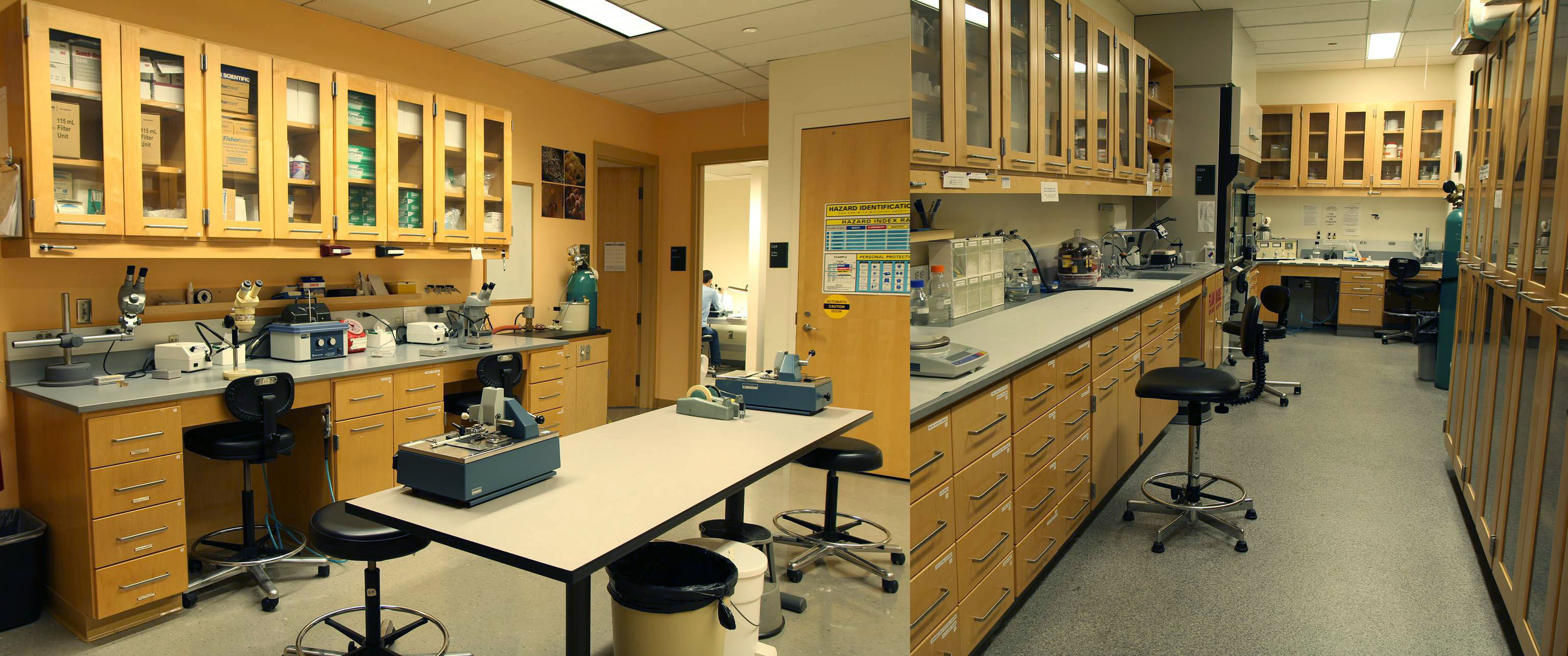 Lab space for sample prep