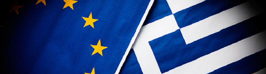 Euro Greece flags
