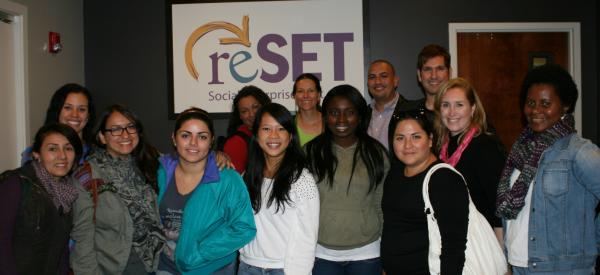 GTDI students at reSet