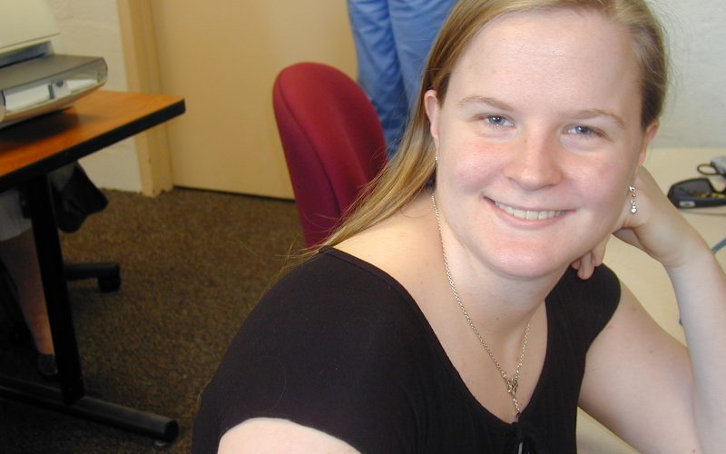Student Lindsay Storey 2009
