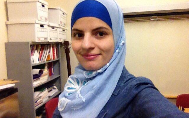 Photo of alum Aya Faraj
