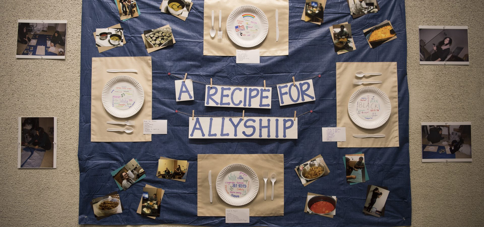 Allyship a recipe for allyship artwork