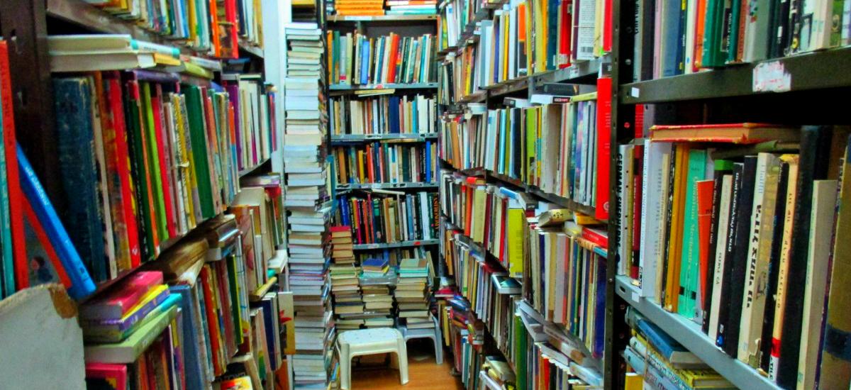 Bookstore Jerusalem 2014