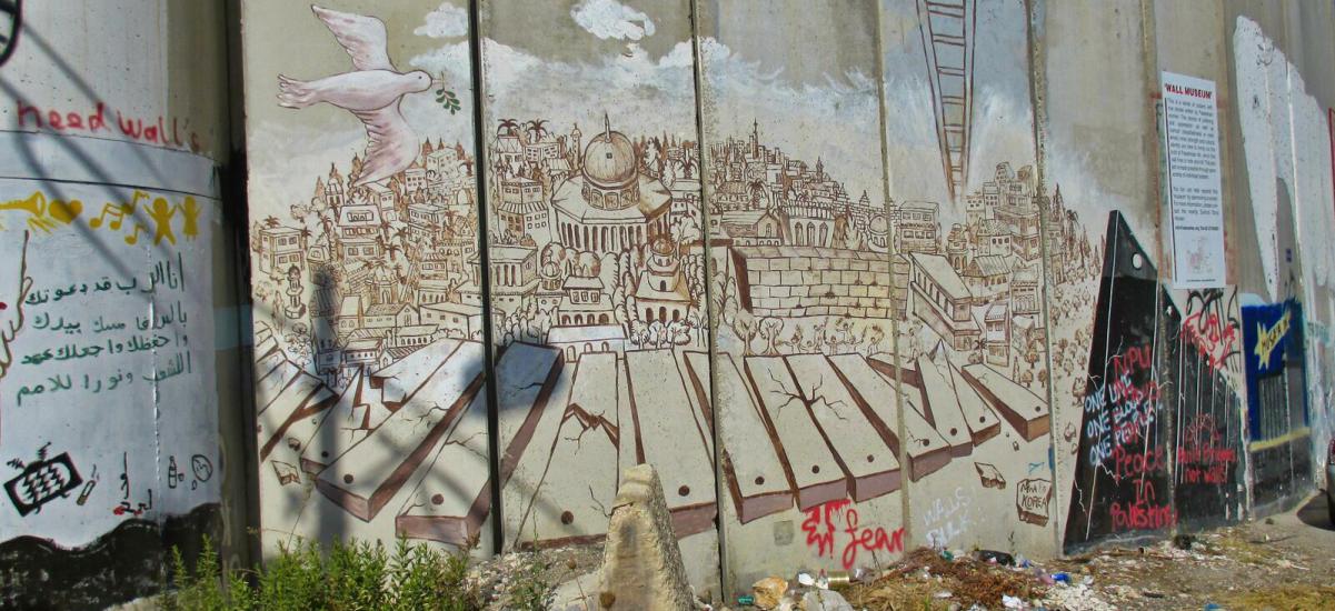 Israel-mural