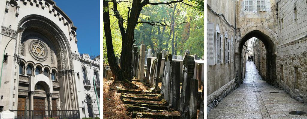 Latin America Synagogue, Polish Cemetery, Jerusalem alley