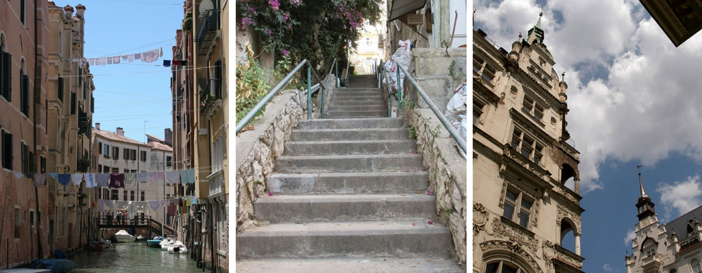 Venice, Haifa, Germany