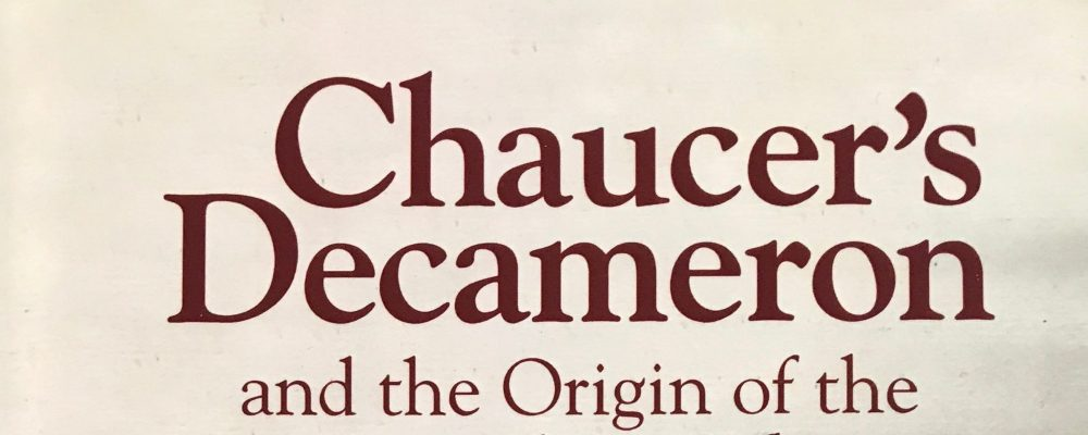 Chaucer's Decameron