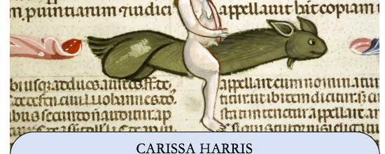Carissa Harris Temple University Black Feminist Readings of Medieval Lyric: The Personal is Political is Historical