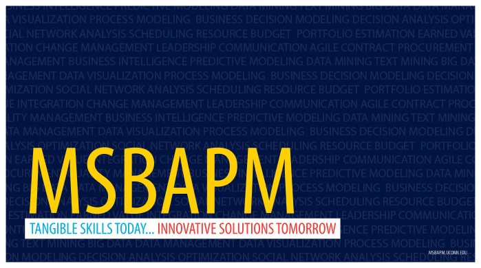 MSBAPM - Tangible Skills Today... Innovative Solutions Tomorrow