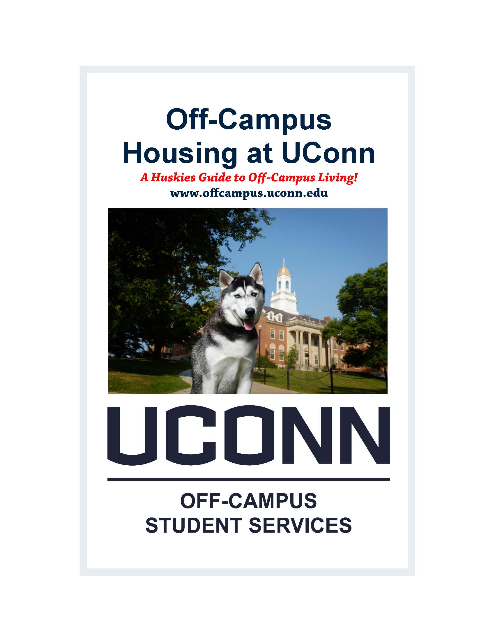 Off-Campus Housing Guide 2014-2015