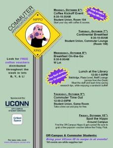 Commuter Appreciation Week! October 6-10
