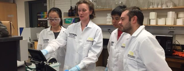 MCB PSM students in the Bacterial DNA & RNA Isolation and Quality Control class.