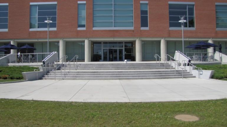 Student Union terrace entrance