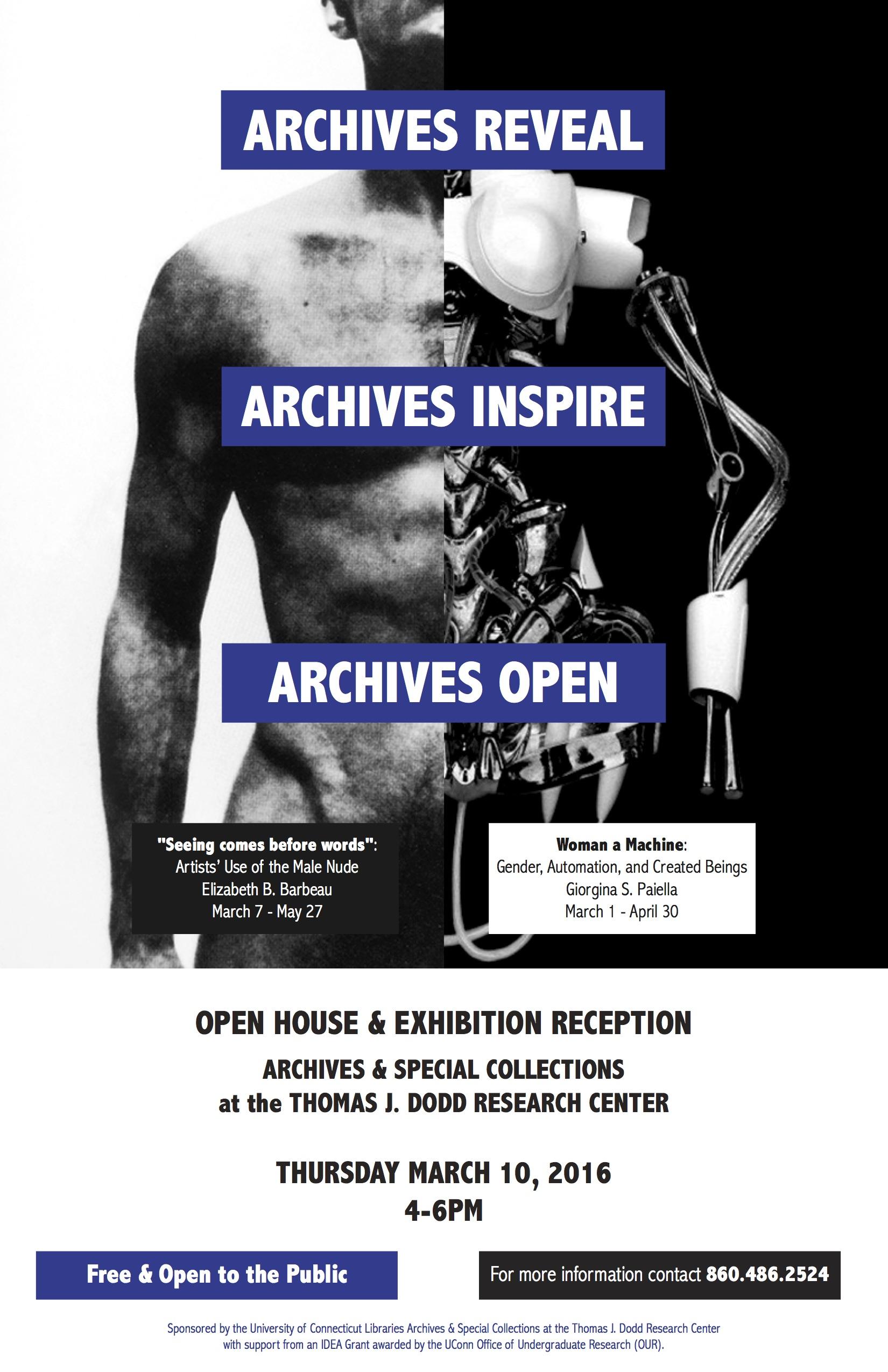 Giorgina Paiella Exhibit Flyer