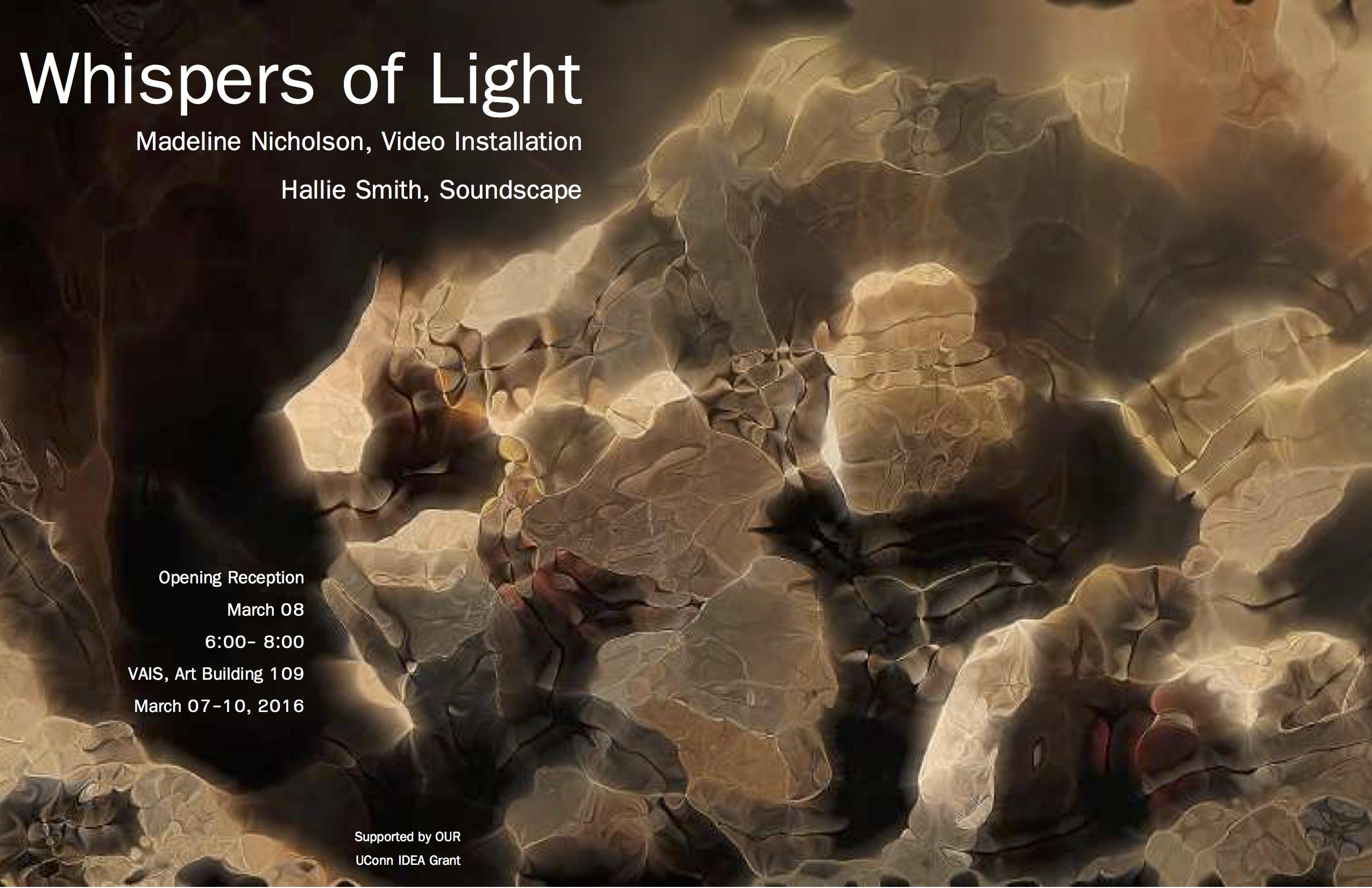 Whispers Of Light Poster