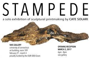 Stampede exhibition poster