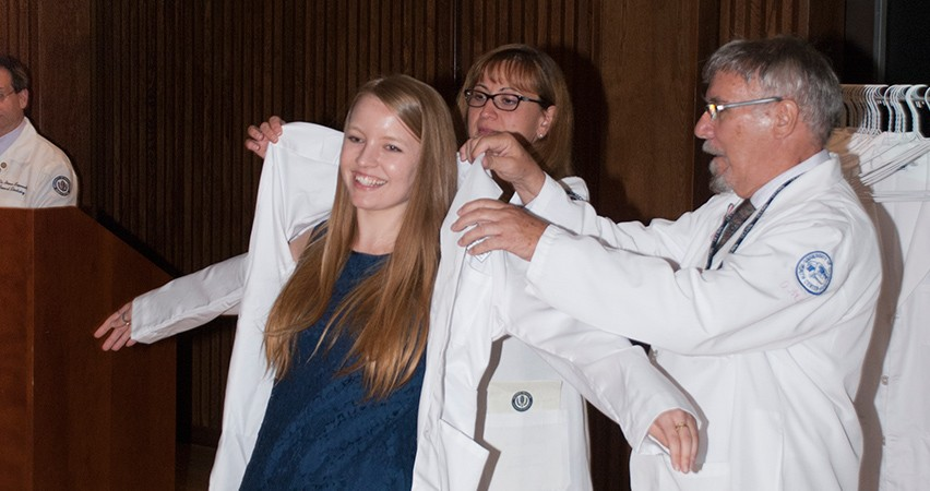 White Coat Ceremonies Welcome UConn Medical and Dental Students
