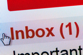 An email inbox