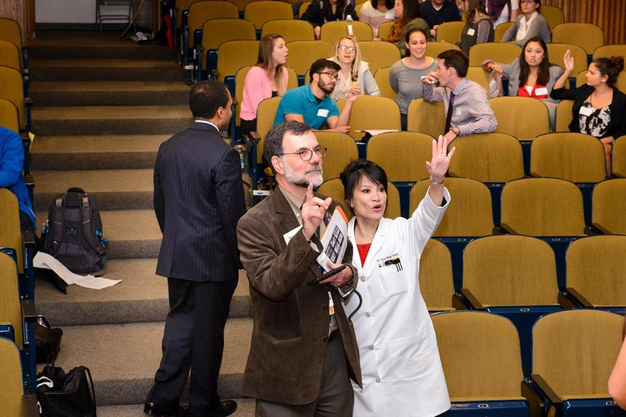 Second annual Interprofessional Education Dean's Afternoon, Sept. 30, 2016, at UConn Health. (Photos by Janine Gelineau)