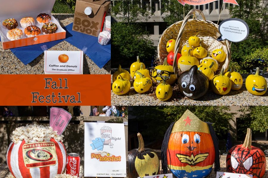 Photos from the Fall Festival on Oct. 6, 2016 (Janine Gelineau/UConn Health Photo)