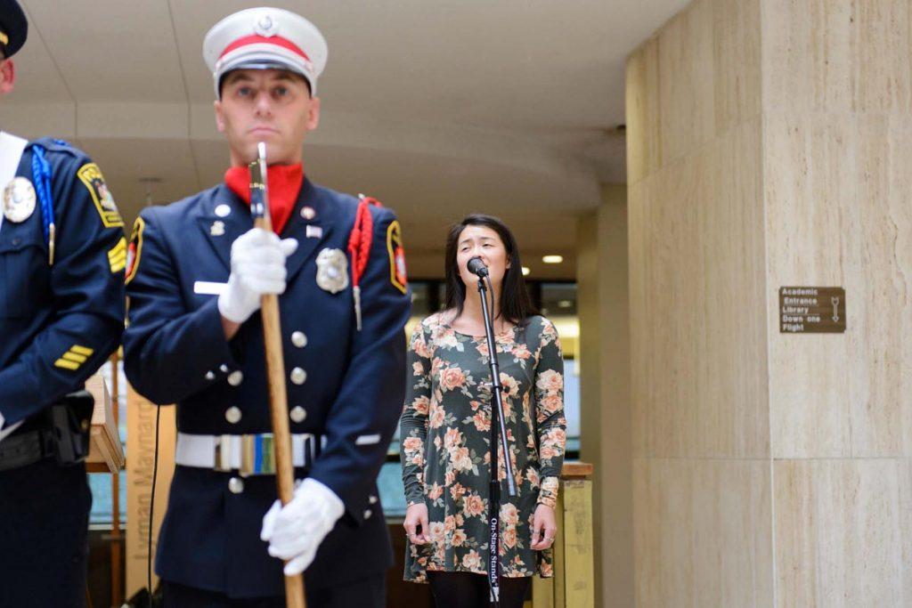 Veteran's Day Ceremony, November 10, 2016