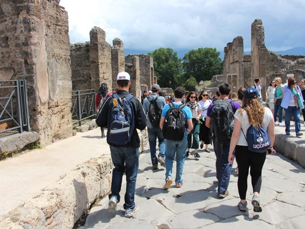 Touring the Water System of Pompeii