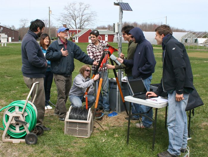 DO Profiling at the Ag Farm Test Site
